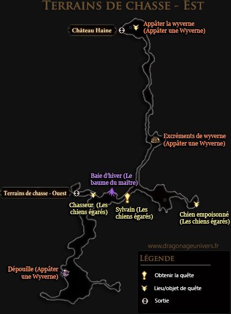 carte terrain de chasse est mota dragon age 2