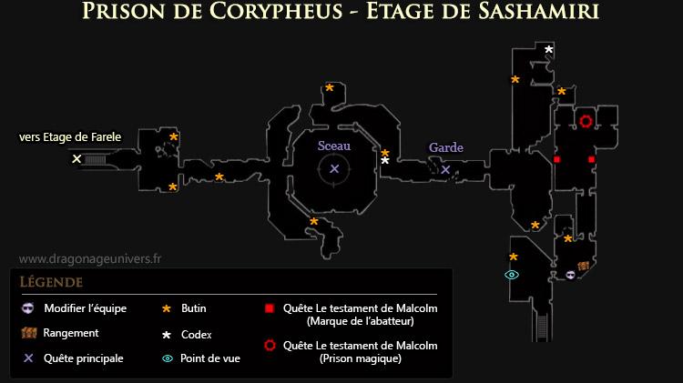carte Étage de Sashamiri