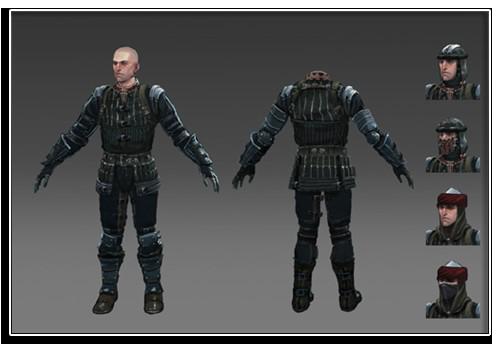 Armure coterie ecumeurs Dragon Age 2