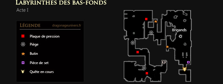 labyrinthes des Bas-fonds DA2