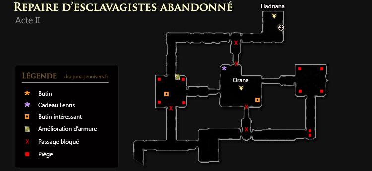 Dragon age 2 Repaire d'esclavagistes abandonné