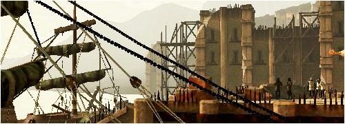 Dragon Age 2 carte des Docks