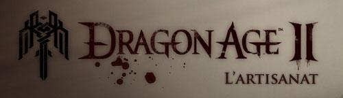 Dragon Age II L'artisanat