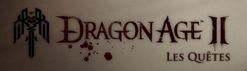 Dragon Age 2 Les quêtes