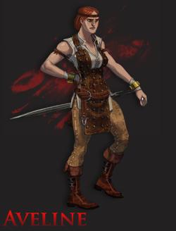 aveline Dragon age 2