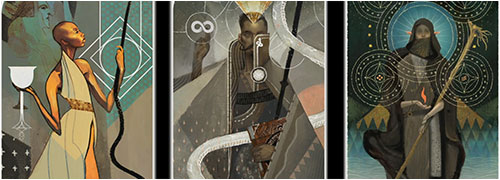 les cartes de tarot