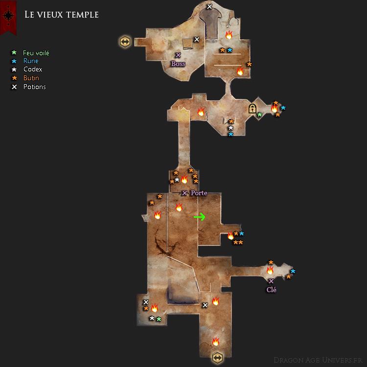 carte du vieux temple
