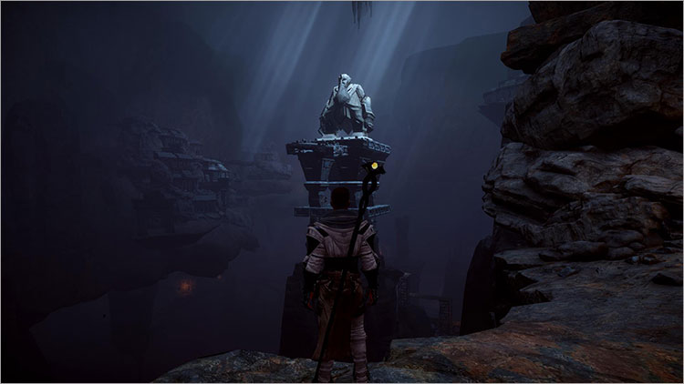 dragon age inquisition test la descente