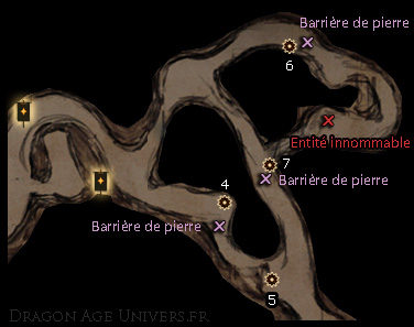 carte pièces anciennes Bastion des Purs