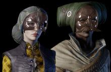 masque de l'ambassadrice