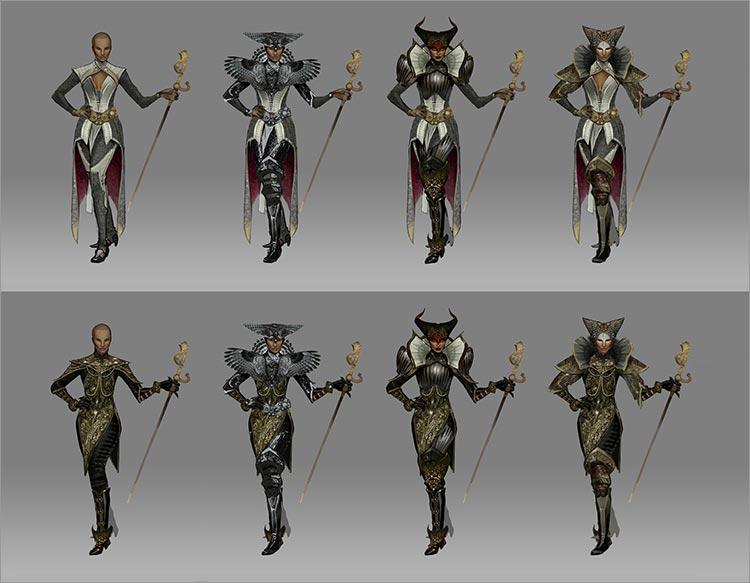Création d'un Enchanteresse Imperiale : vivienne 01