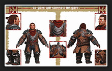 kits personnage Inquisition varric