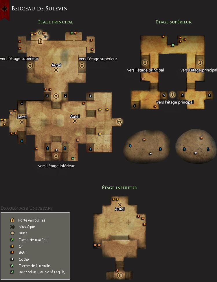 Carte du Berceau de Sulevin