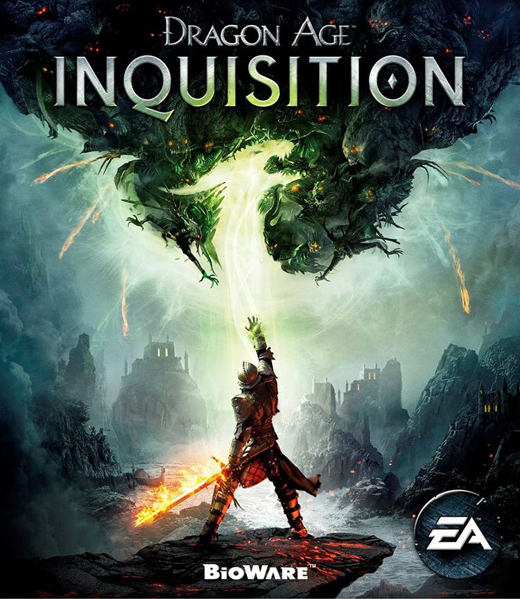 couverture officielle de Dragon Age Inquisition