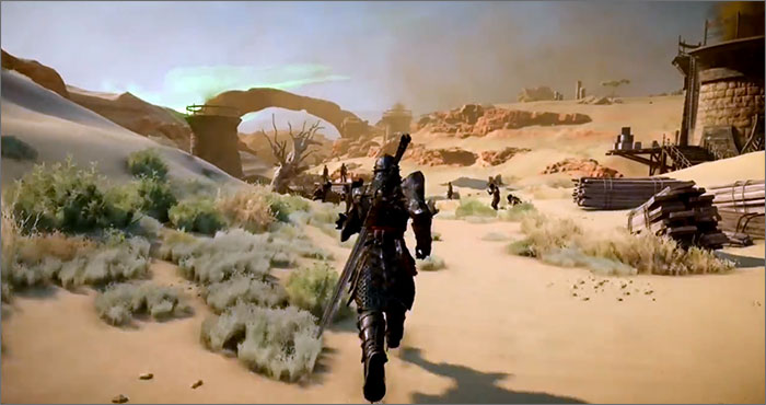 Dragon Age Inquisition PAX Prime Démo. Gameplay