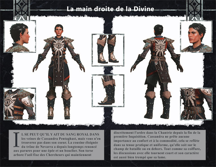 kits personnage Inquisition Cassandra