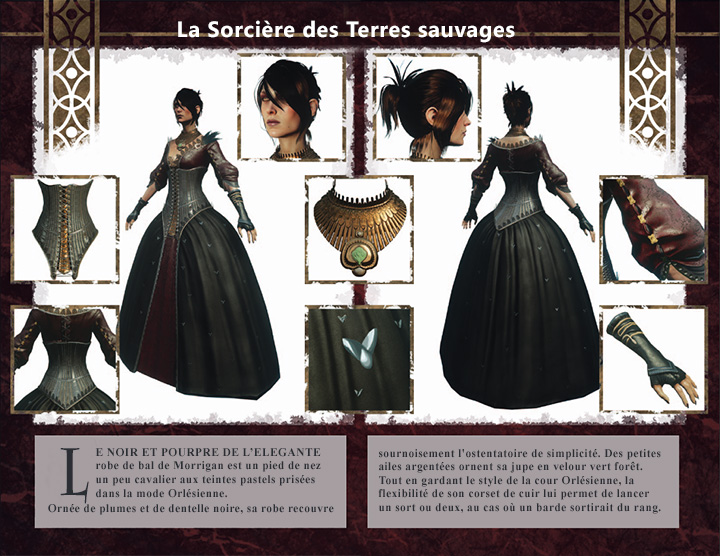 kits personnage Inquisition Morrigan