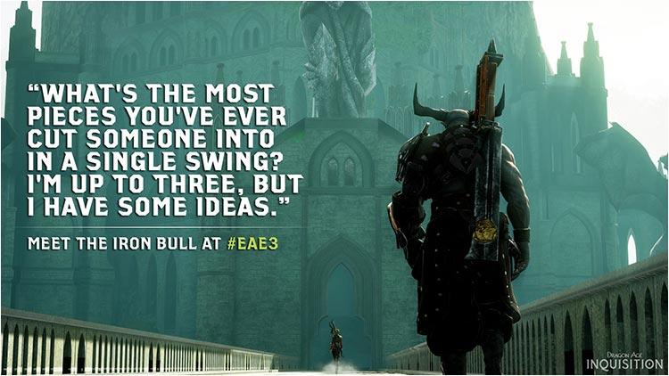 iron bull, le taureau de fer E3