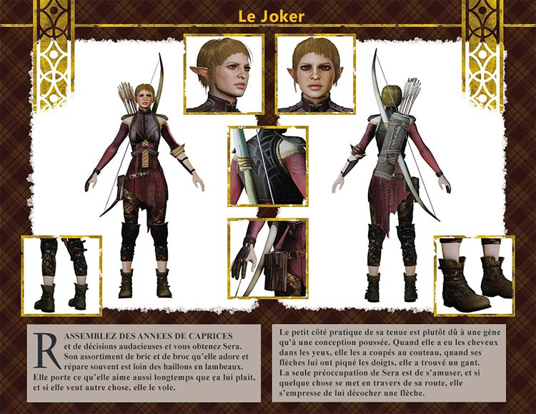 kits personnage Inquisition Sera