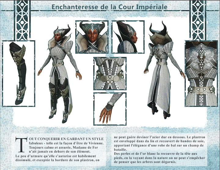 kits personnage Inquisition Vivienne