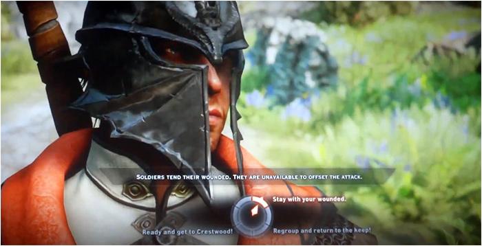 Dragon Age Inquisition roue des dialogues