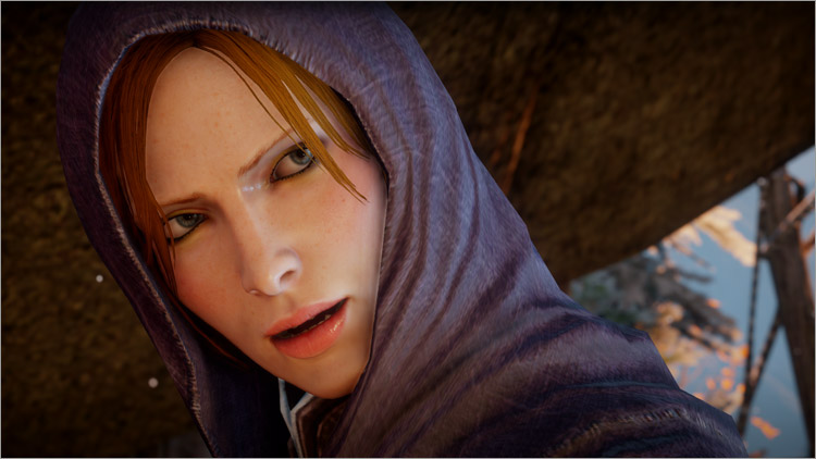 Dragon Age Inquisition Adoucir Léliana