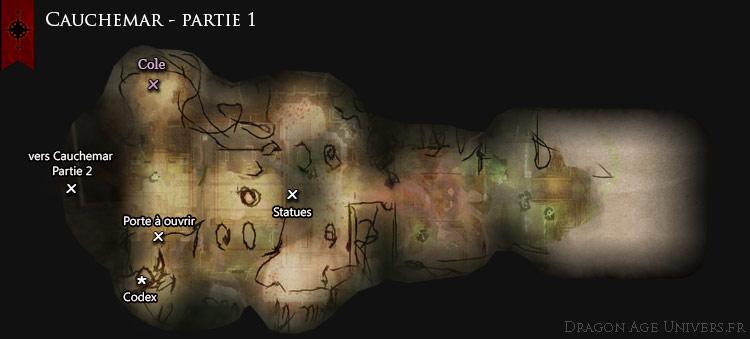 Refuge de Thérinfal cauchemar carte