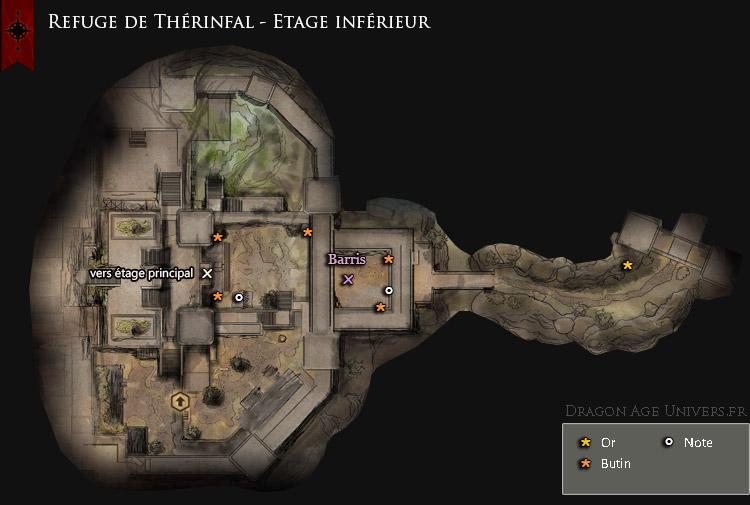 Refuge de Thérinfal étage inférieur