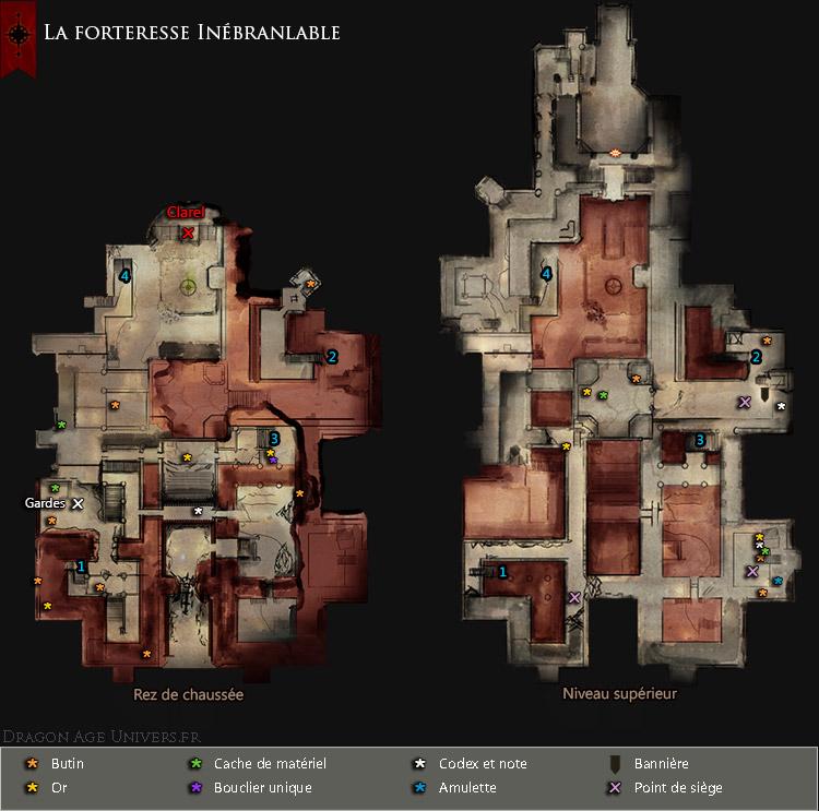 carte forteresse Inébranlable
