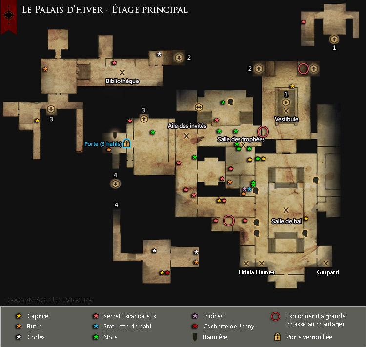Palais d'hiver étage principal