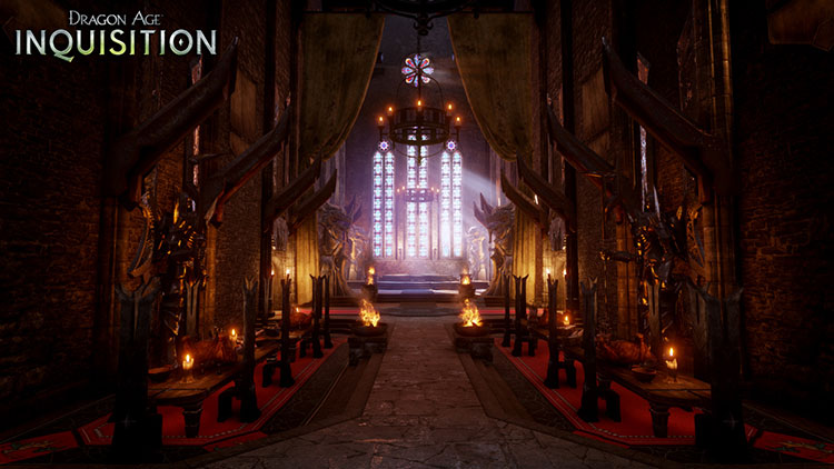 Dragon Age Inquisition : Skyhold