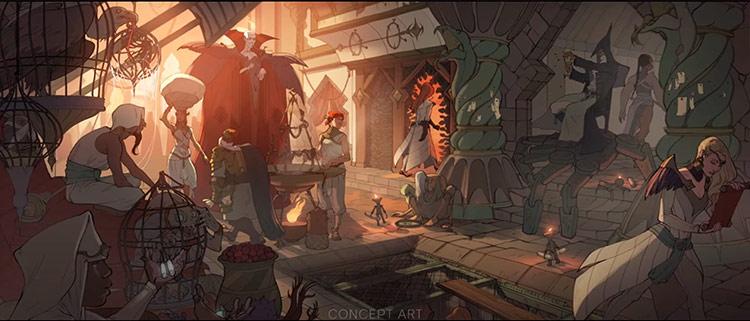 Dragon Age 4 ville