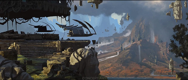 Dragon Age 4 paysage