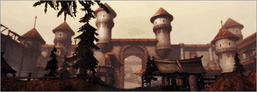 Dragon Age Awakening cartes d'Amaranthine