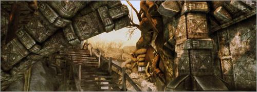 Dragon Age Awakening cartes de Collines de Bois Noueux et Kal'Hirol
