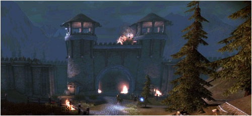 siège de fort Bastel Dragon age Awakening