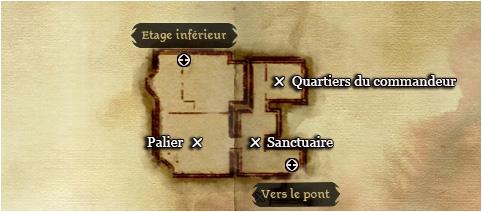 la carte du premier étage