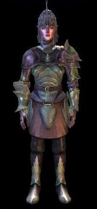 armure ancienne elfe