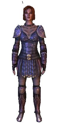 armure de cuir supérieure en écaille de drake