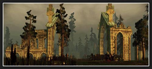 Terres sauvages de Korcari Dragon age Origins