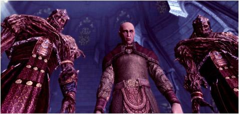 La chambre de confrontation Dragon age origins