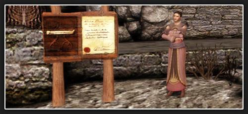 Dragon Age Origins tableau du cantor