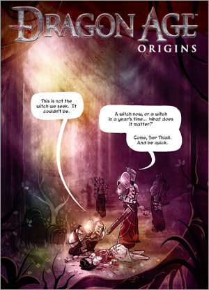 Dragon Age Origins Penny Arcade comics