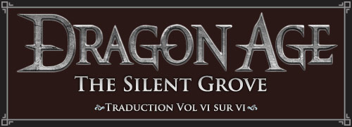 dragon age the silent groove 06 français