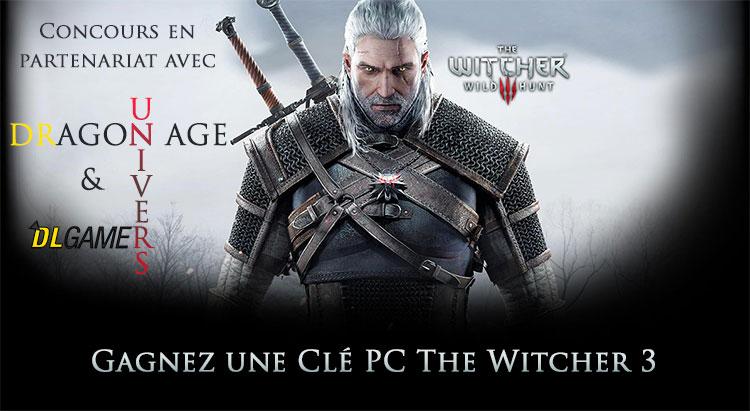 The Witcher 3 (un exemplaire PC ) à gagner