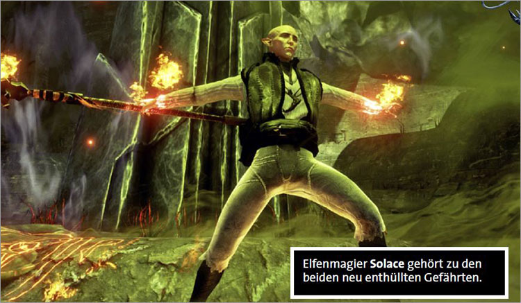 Solas compagnon de dragon age inquisition