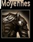 armures moyennes