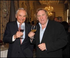 Bernard Magrez propriétaire, l'acteur Gérard Depardieu