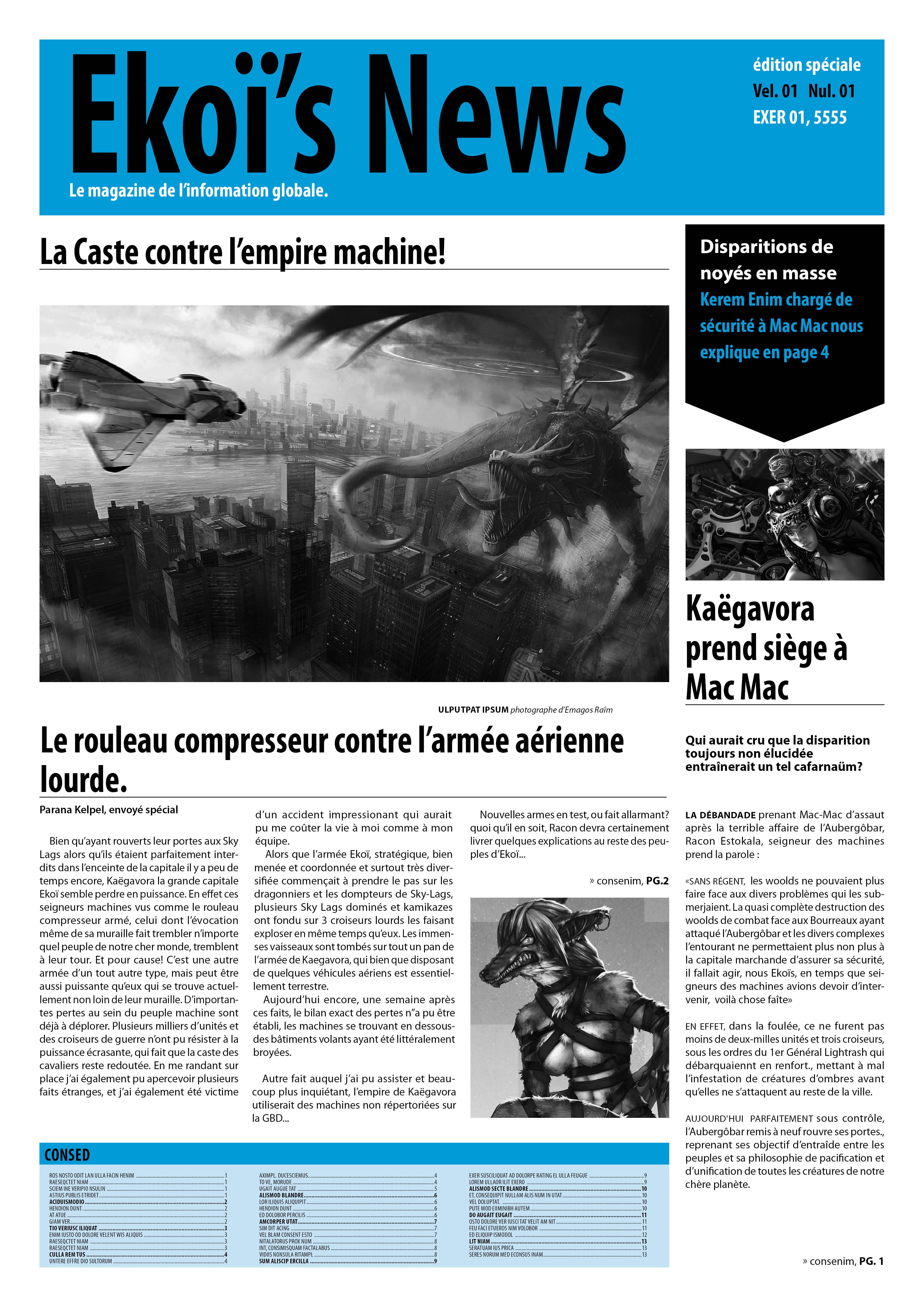 Ekoï's News, édition spéciale fin d'année! Ekoi_news