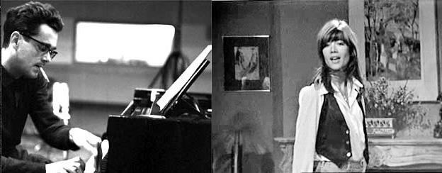 Françoise Hardy et Michel Legrand